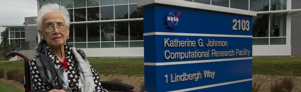 Katherine at NASA