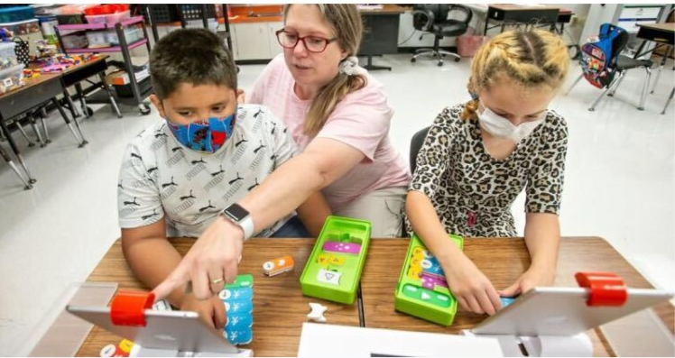 Honey Run Teacher Uses 'Osmo for Schools'